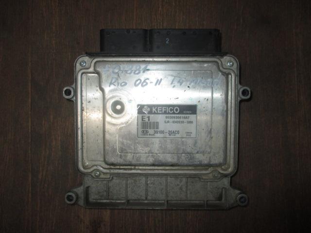 ЭБУ 1.4 G4EE МКПП Kia Rio 2006-2011