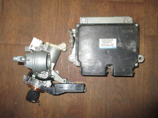 ЭБУ комплект с замком 6B31 CW6W 3.0 V6 Mitsubishi Outlander XL 2006-2012