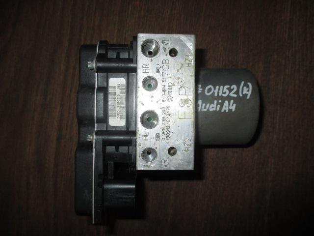 Блок (модуль) ABS Audi A4 2007-