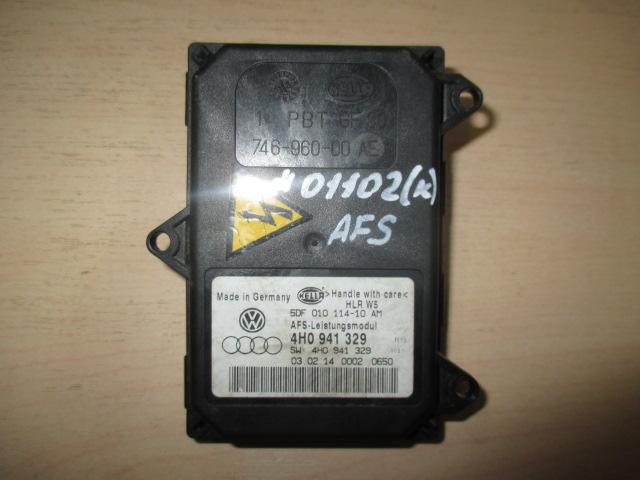 Блок AFS (управления адаптивным освещением) VW Tuareg 2010-