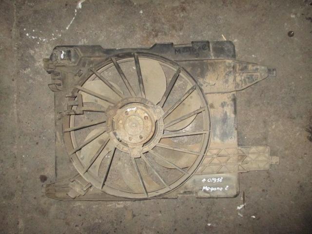 Вентилятор охлаждения радиатора 1.6-2.0 Renault Megane 2
