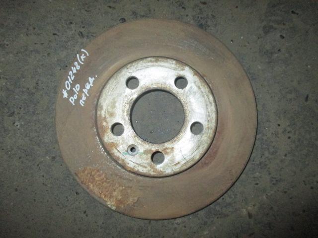 Диск тормозной передний VW Polo Sedan 2011-