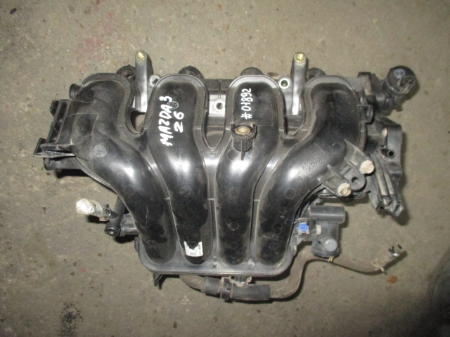 Коллектор впускной Z6 1.6 Mazda 3 BK 2003-2009