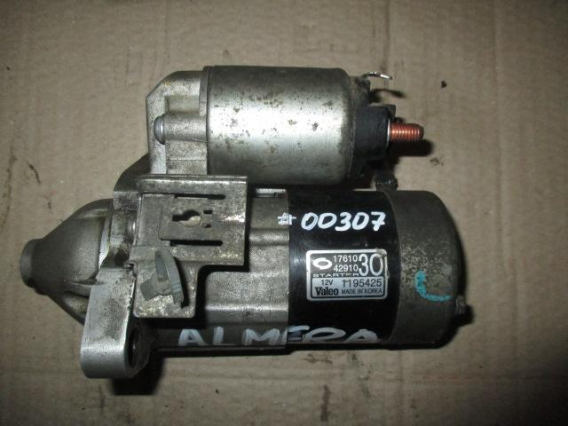Стартер 1.6 (QG16) Almera B10 2006-2011