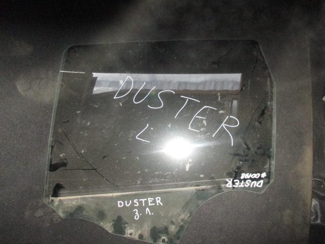 Стекло двери задней левой Duster