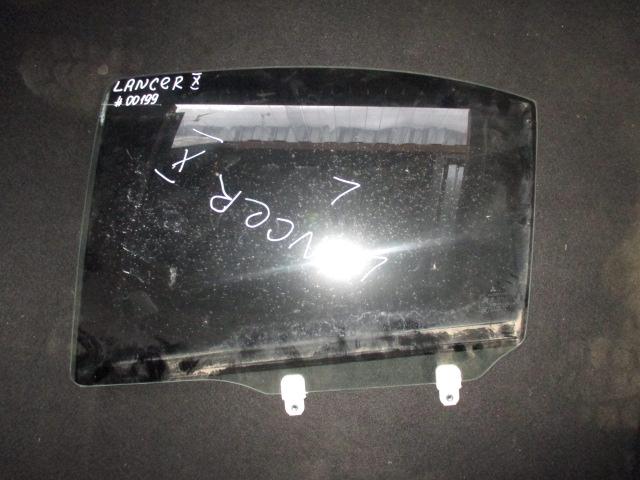 Стекло двери задней левой Lancer 10