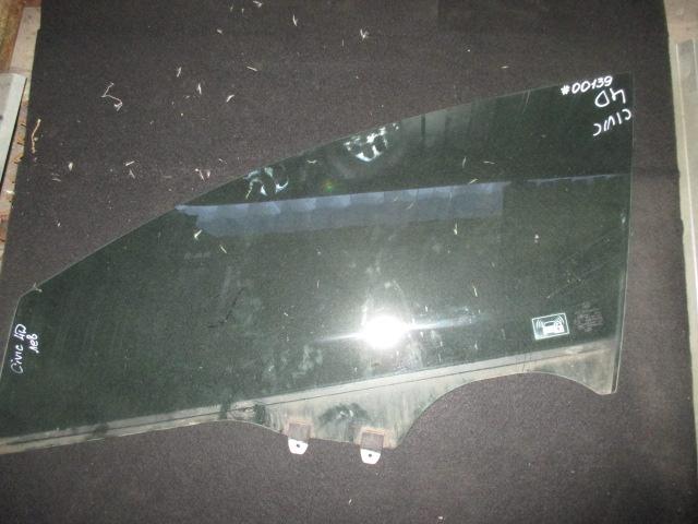 Стекло двери передней левой Civic 4D 2006-2012
