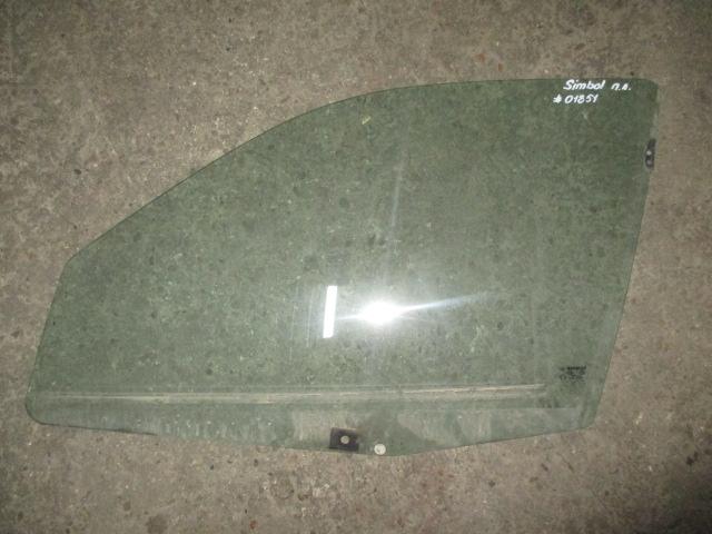 Стекло двери передней левой Renault Clio/Simbol 1998-2008