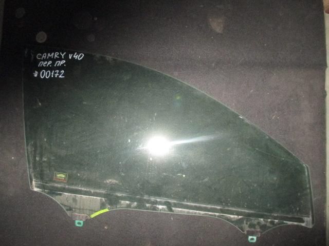 Стекло двери передней правой Camry V40 2006-2011