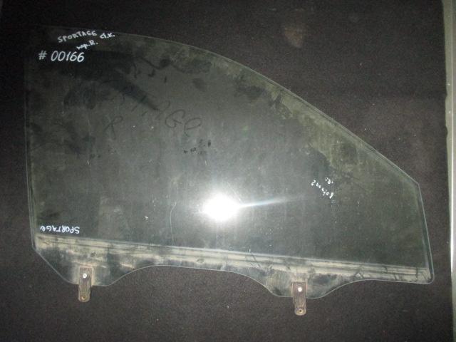 Стекло двери передней правой Sportage 2004-2010