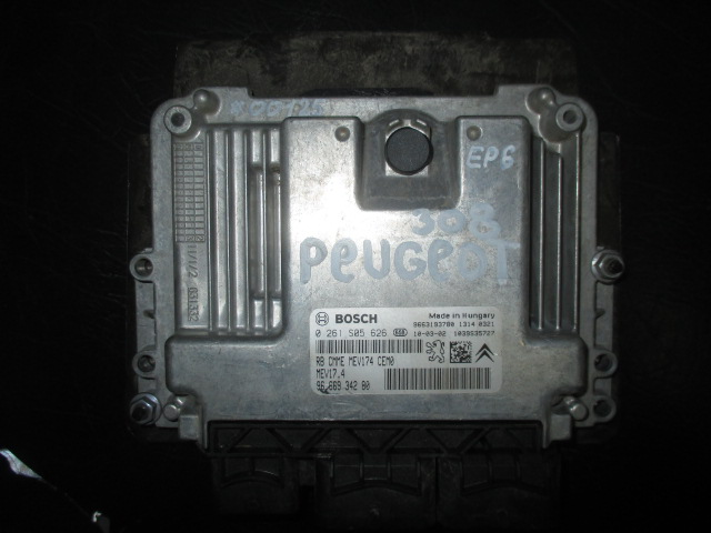 ЭБУ 308 EP6 Bosch 0 261 S05 626