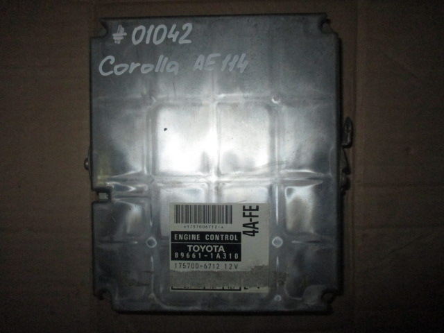 ЭБУ 4AFE AT Toyota Corolla E11 1995-2000