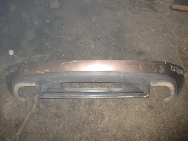 Юбка заднего бампера Tuareg 2010-